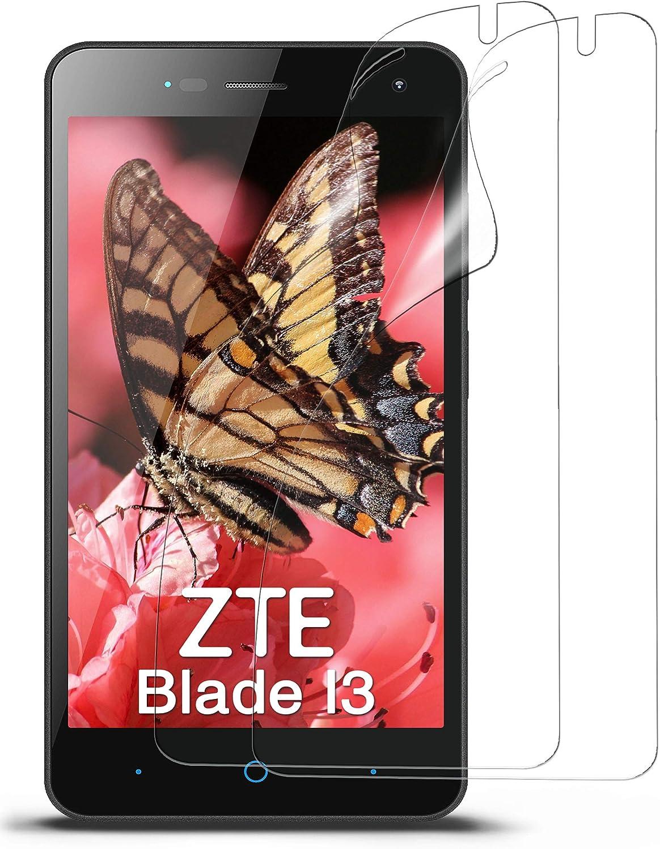 MoEx® Protector de Pantalla HD Transparente Compatible con ZTE Blade L3   Antirrayaduras, 2X: Amazon.es: Electrónica