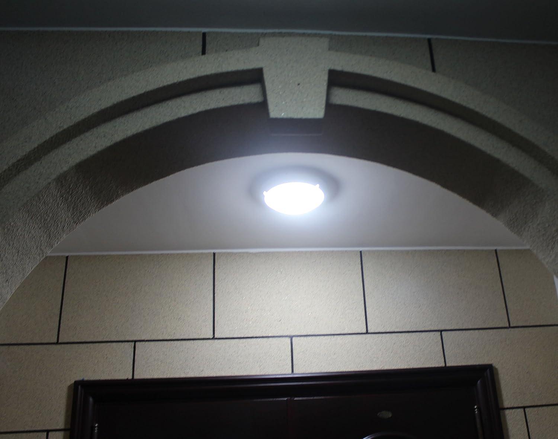 Plafoniera Con Sensore Di Movimento : Zeyun plafoniera a soffitto parete con sensore microonde w