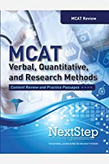 MCAT Verbal, Quantitative, and Research Methods: Content Review and Practice Passages Paperback