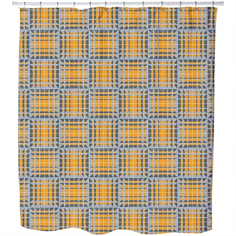 Uneekee Tribute To MC Escher Shower Curtain: Large Waterproof Luxurious  Bathroom Design Woven Fabric