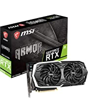 MSI Gaming GeForce RTX 2070 8GB GDRR6 256-bit HDMI/DP/USB Ray Tracing Turing Architecture HDCP Graphics Card