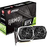 MSI GAMING GeForce RTX 2070 8GB GDRR6 256-bit HDMI/DP/USB Ray Tracing Turing Architecture HDCP Graphics Card (RTX 2070…