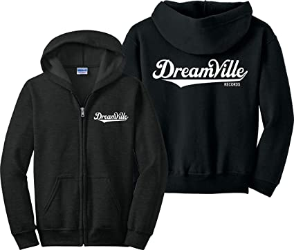 Dreamville Zip Up Hoodie J Cole Kod Tour Tde Records Music Zipper