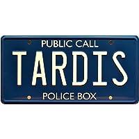 Doctor Who   TARDIS   Metal Stamped License