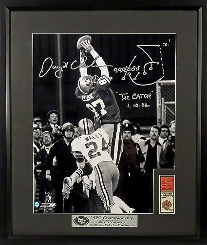 47482b100ff Dwight Clark Framed   Autographed