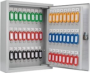 Winbest Steel Key Safe Wall Mount Cabinet Storage Key Lock Safe Box (75 Key Safe Wall Mount Cabinet)