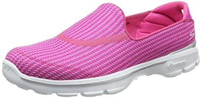 cff54eef1d4 Image Unavailable. Image not available for. Colour  Skechers Women s GOwalk  3 Low Top Sneakers