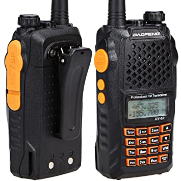 BaoFeng UV-6R Dual Band Two Way Radio Transceiver 136-174//400-520MHz High Power