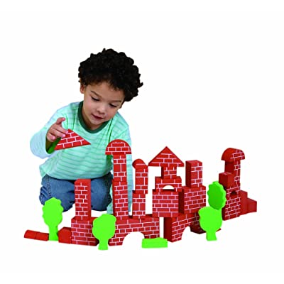 Edushape Brick-Like Edublocks Set of 36 : Baby Toys : Baby