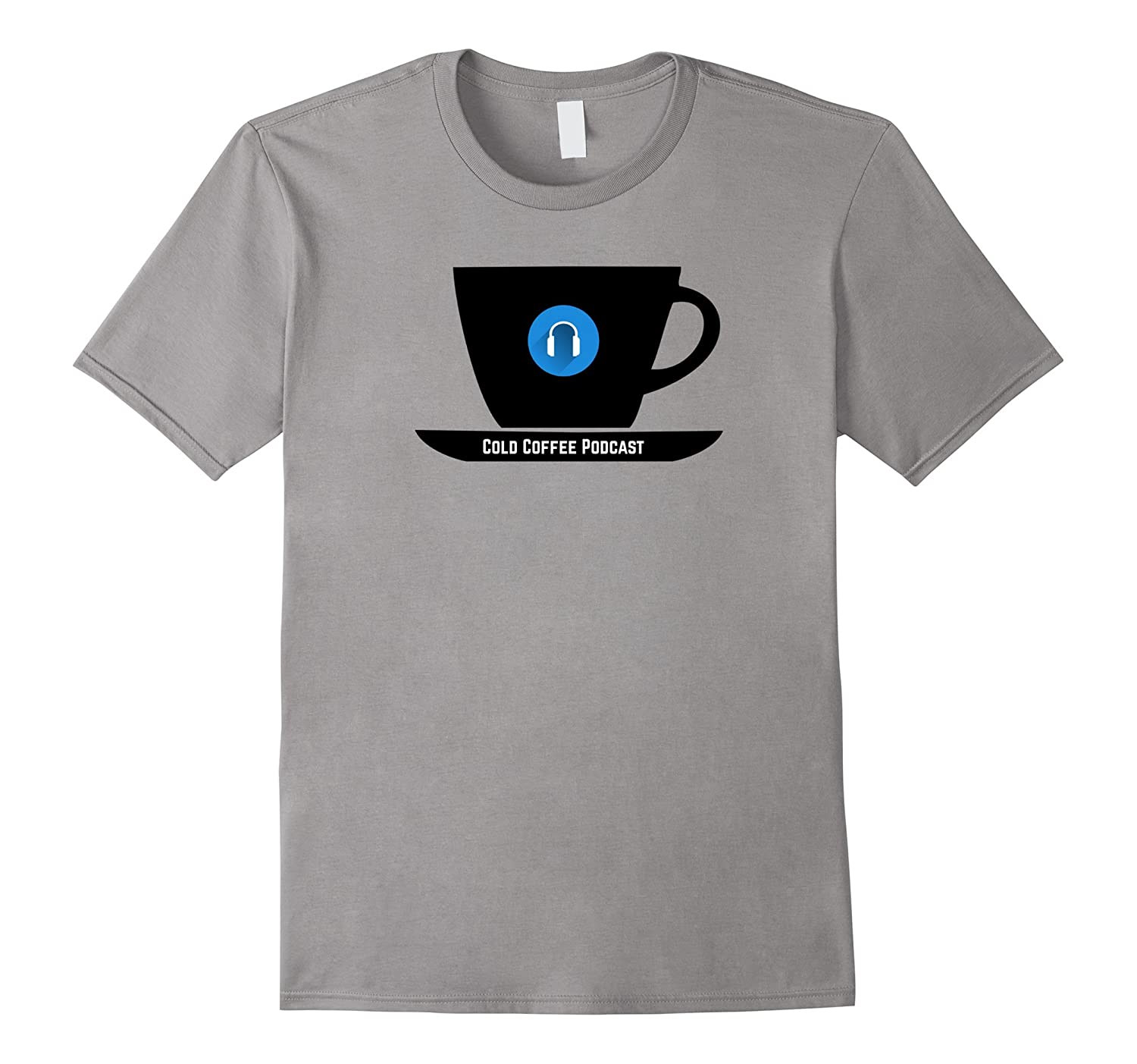 Cold Coffee Podcast T-shirt-Vaci