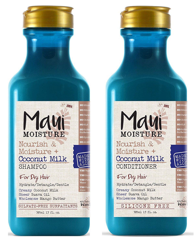 Maui Moisture Nourish & Moisture + Coconut Milk Conditioner, 13 Ounce Vogue International 18052W