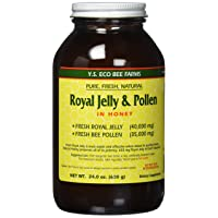 Fresh Royal Jelly + Bee Pollen, Honey Mix - 40,000 mg YS Eco Bee Farms 24.0 oz.