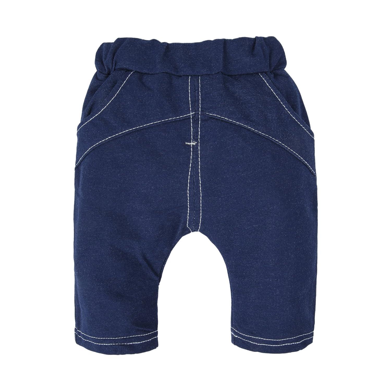 BIG ELEPHANT Neonati Set da 2 pezzi di jeans a manica corta a manica corta U19