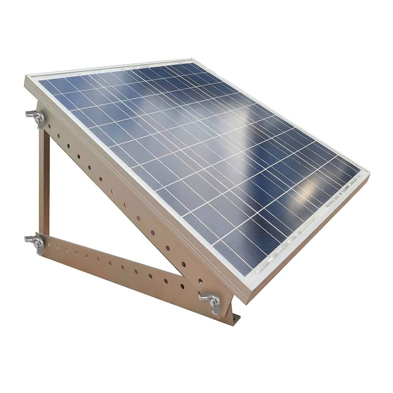 Newpowa Universal Solar Panel Mounting Bracket Tilt Mounts Flat Surface,RV Roofs,Boat