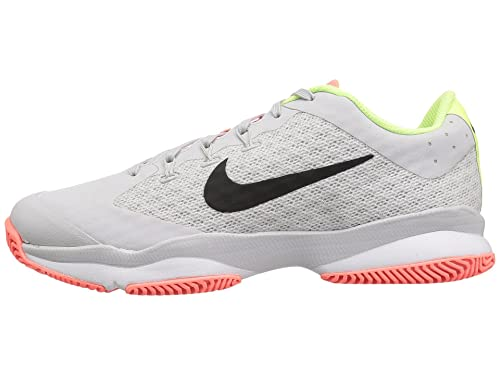 Nike Women's Air Zoom Ultra Tennis Shoes (10.5, Vast GreyBlackWhiteVolt Glow)