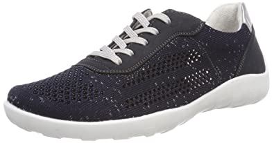Womens R3503 Trainers, Pazifik/Pazifik/Silver/14 Remonte