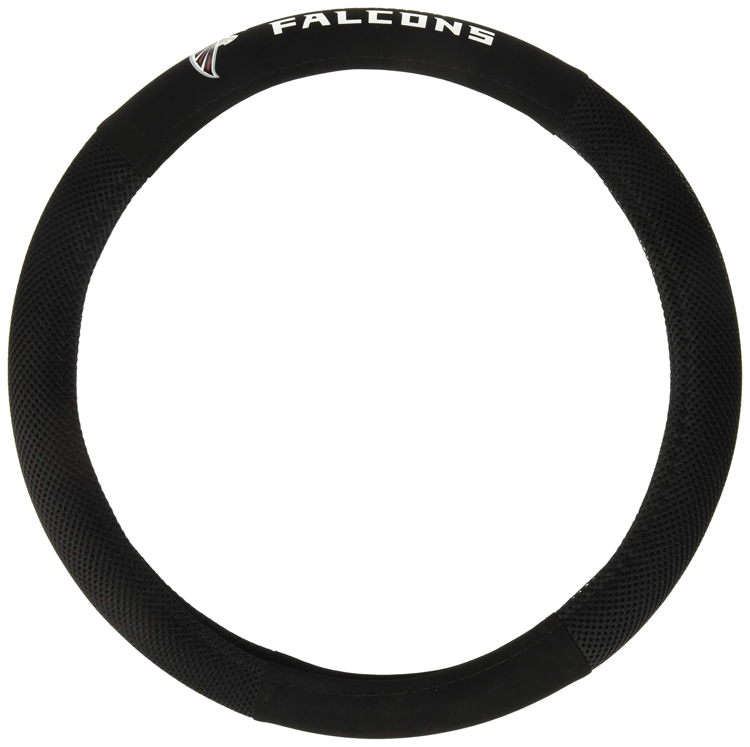 Fremont Die NFL Atlanta Falcons Poly-Suede Steering Wheel Cover