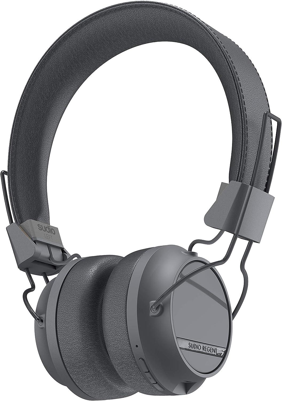 Sudio Regent II On-Ear Bluetooth Headphones (Black)