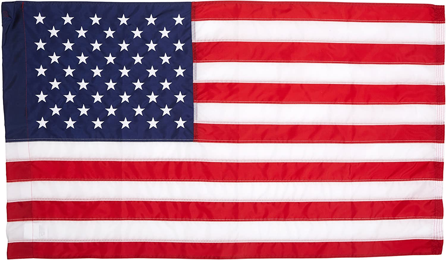 American Flag 2.5 by 4 feet Made in the USA Double Sticked Stripes made of Nylon #25403M