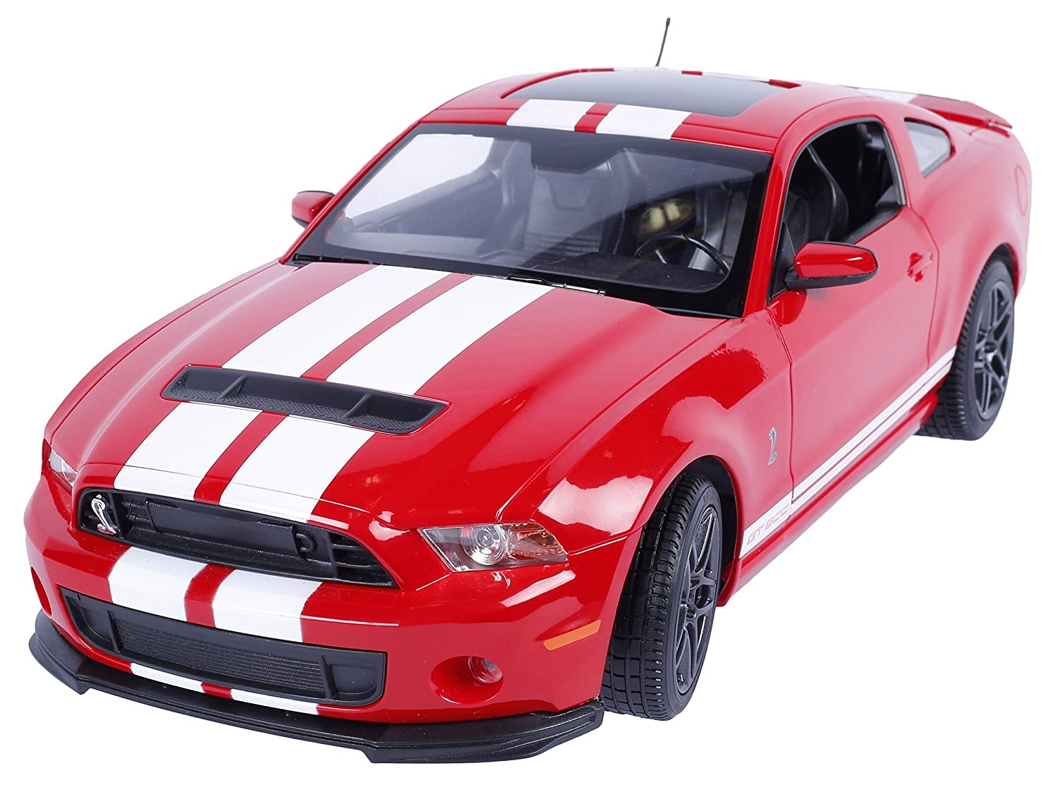 Buy toyhouse officially licensed rastar ford mustang shelby gt500 114 scale model car red online at low prices in india amazon in