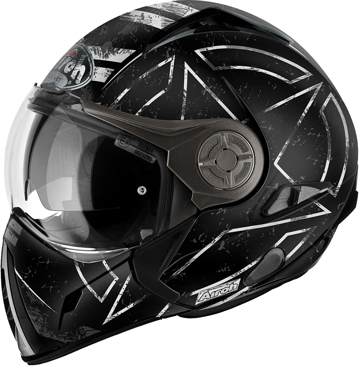 Airoh CASCO MODULARE J106 COMMAND BLACK MATT S