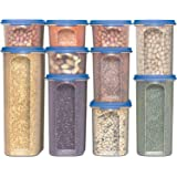 Food Storage Containers -STACKO- 20 PC. - Airtight Dry Food Container with Lids, (10 Container set)