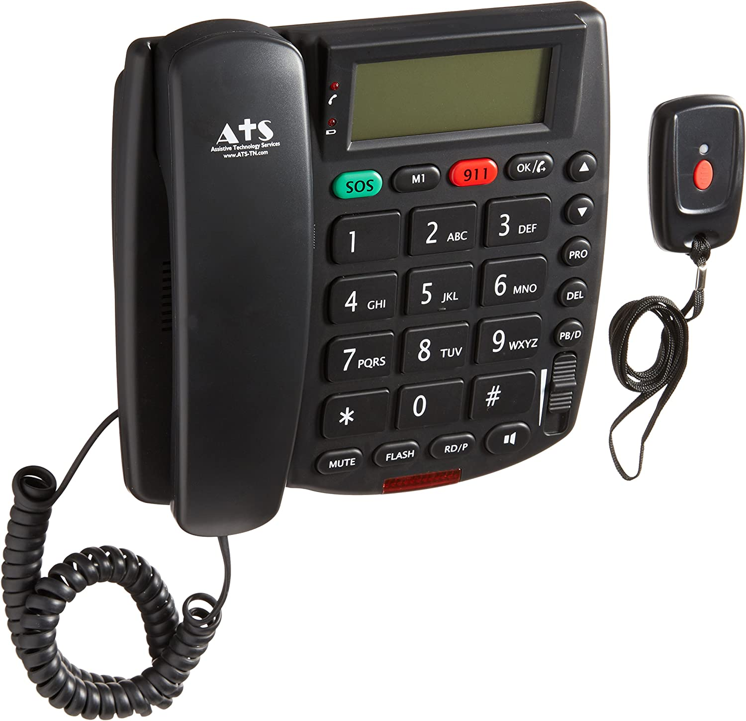 NO MONTHLY CHARGES SENIOR LIFE GUARDIAN MEDICAL EMERGENCY ALERT PHONE SYSTEM