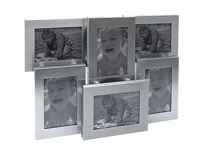 Present Time PT0845 - Marco para 6 fotos de 6 x 9 cm, 25 x 18 x 5 cm ...
