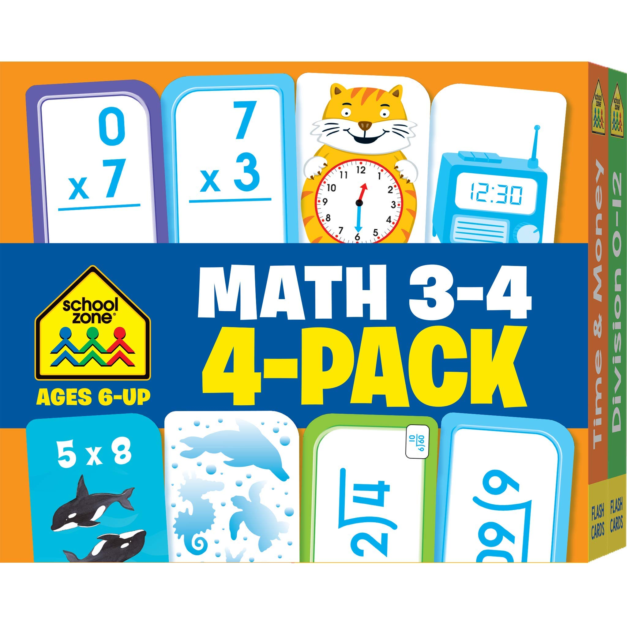 New Math Flash Cards You Choose Addition, Subtraction, Division, Multiplication