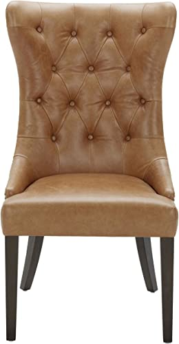Amazon Brand Stone Beam Leather Dining Chair