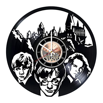 Harry Potter Movie Vinyl Record Wall Clock - Kids Room wall decor -Gift ideas for