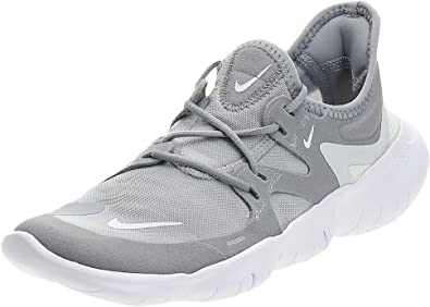 Amazon.com | Nike Women's Free RN 5.0 Running Shoe Wolf Grey/White/Pure Platinum Size 9 M US | Road Running
