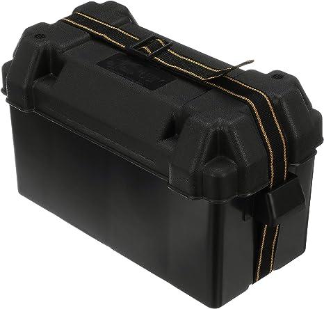 Caja para Baterias de Polietileno Attwood 390/180/245: Amazon.es: Deportes y aire libre
