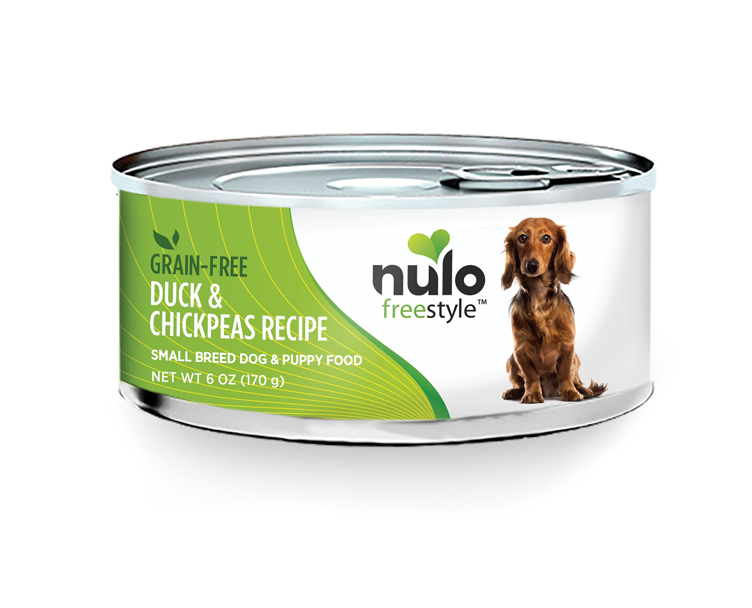 Nulo 52SD06 Small Breed Dog Duck & Chickpeas, 6 oz