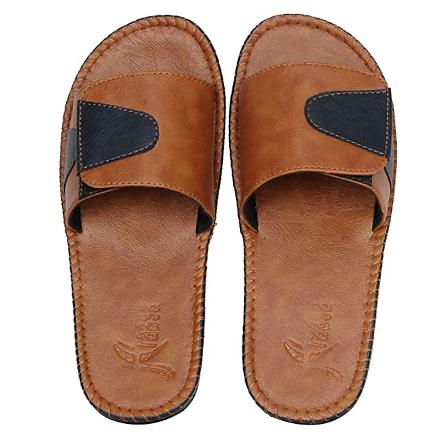 558c2b76d9f3ba Kraasa 5160 NewStyle Casual Slippers   Flip-Flops  Buy Online at Low Prices  in India - Amazon.in