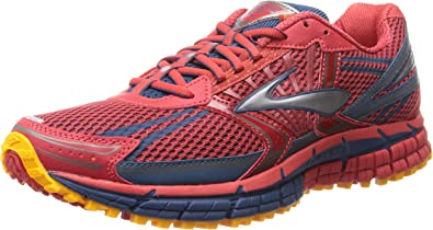 BROOKS Adrenaline ASR 11 Zapatilla de Trail Caballero, color rojo ...