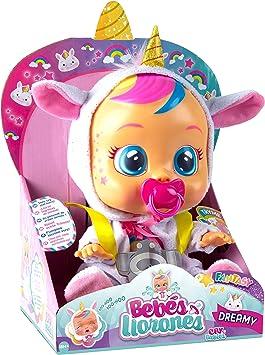 Oferta amazon: Muñeca Fantasy Dreamy de Bebés Llorones - IMC Toys