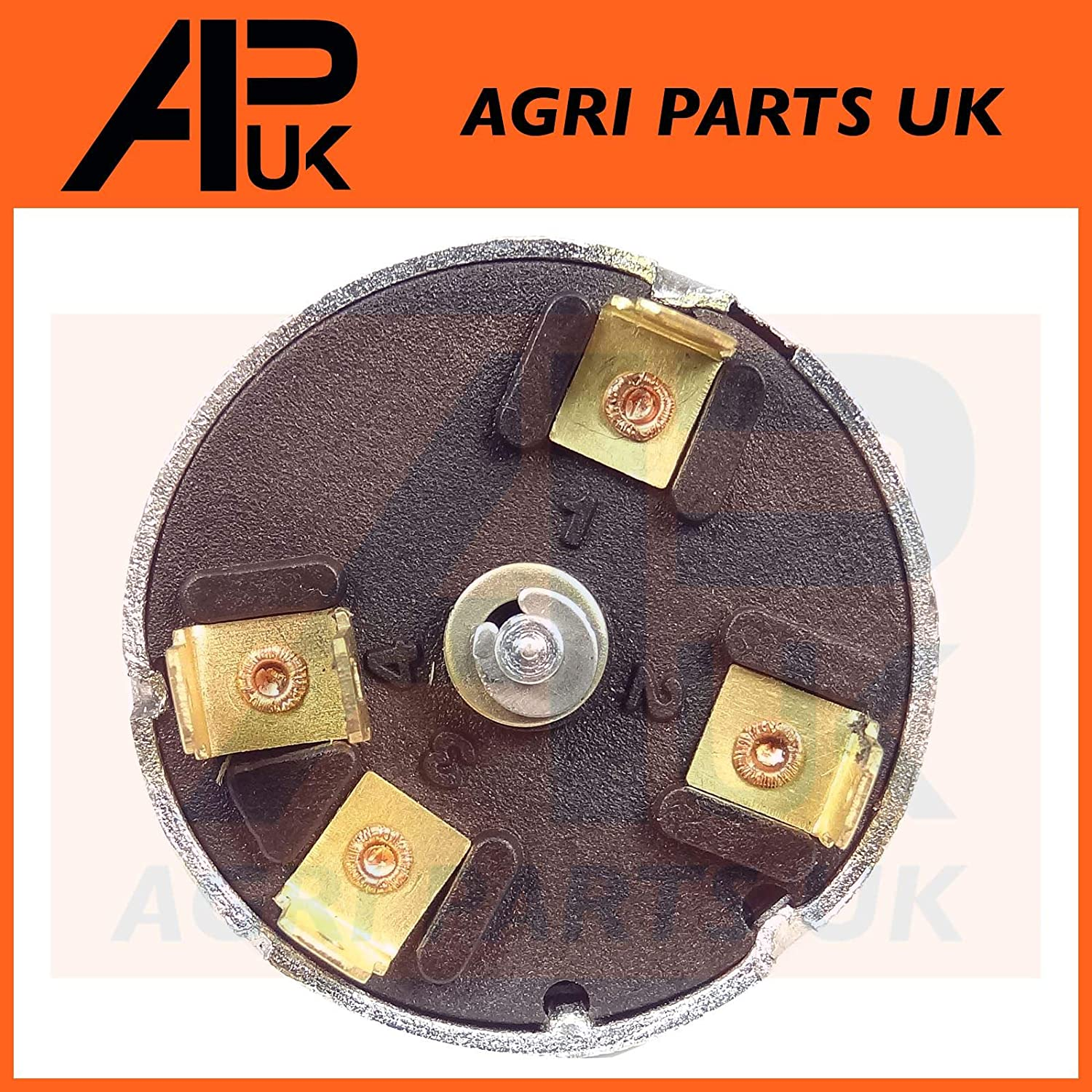 APUK Headlight Light Indicator Switch compatible with Massey Ferguson 675 690 698 699 1004 Tractor