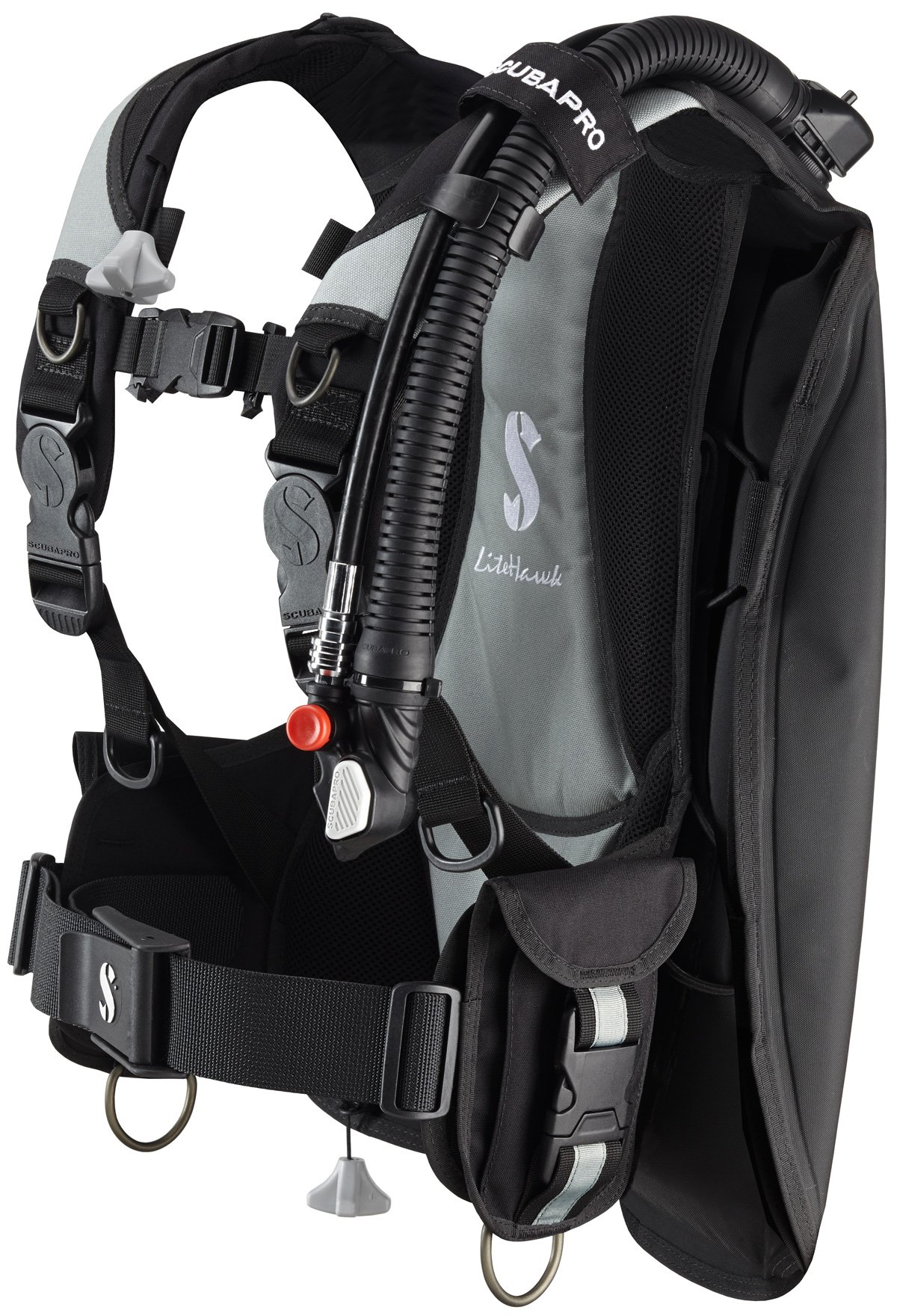 Scubapro Litehawk Scuba Diving BC with BPI - XLarge/2XLarge