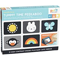 Petit Collage Tummy Time Peekaboo, Multicolor