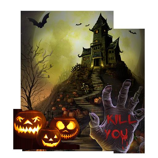 Halloween House Live wallpaper -