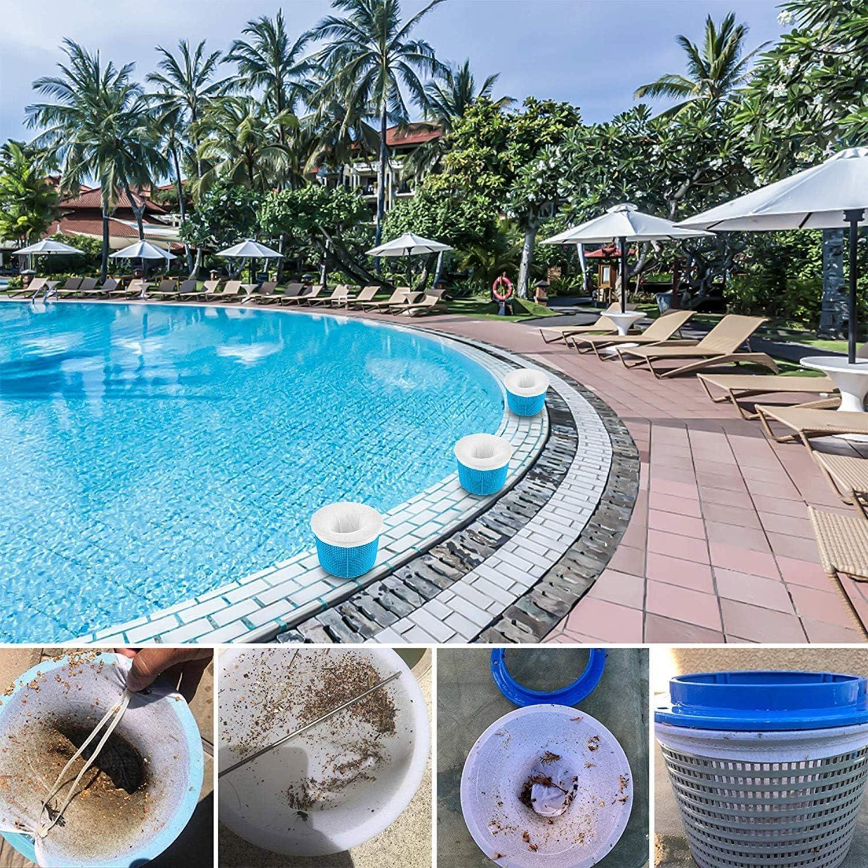 Skimmerkorb,Perfekte Filterschoner zum Schutz Ihrer Filter Bl/ätter Pool Skimmer,Siebkorb K/örbe und Skimmer Entfernt Schlacken Insekten Phayee Skimmerkorb Abschaum