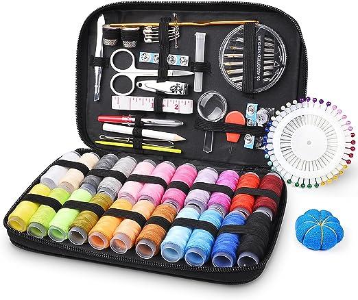 myguru – Estuche a coser, KIT de costura, Set de costura, 130 packs: Amazon.es: Hogar
