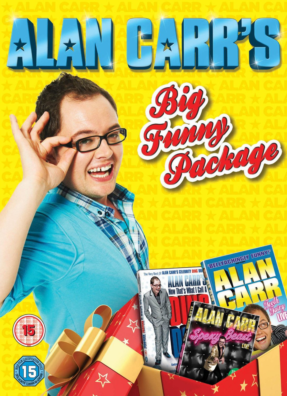 Christmas door decorating davina mccall interview 2015 celebrity interviews - Alan Carr S Big Funny Package Tooth Fairy Live Now That S What I Call A Ding Dong Spexy Beast Live Dvd Amazon Co Uk Alan Carr Dvd Blu Ray