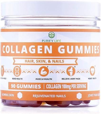 Amazon.com: Gomitas de colágeno para hombres y mujeres ...