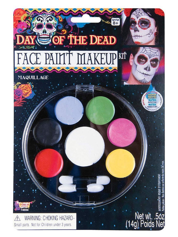 Forum Novelties - Day Of The Dead-Face Paint M/U