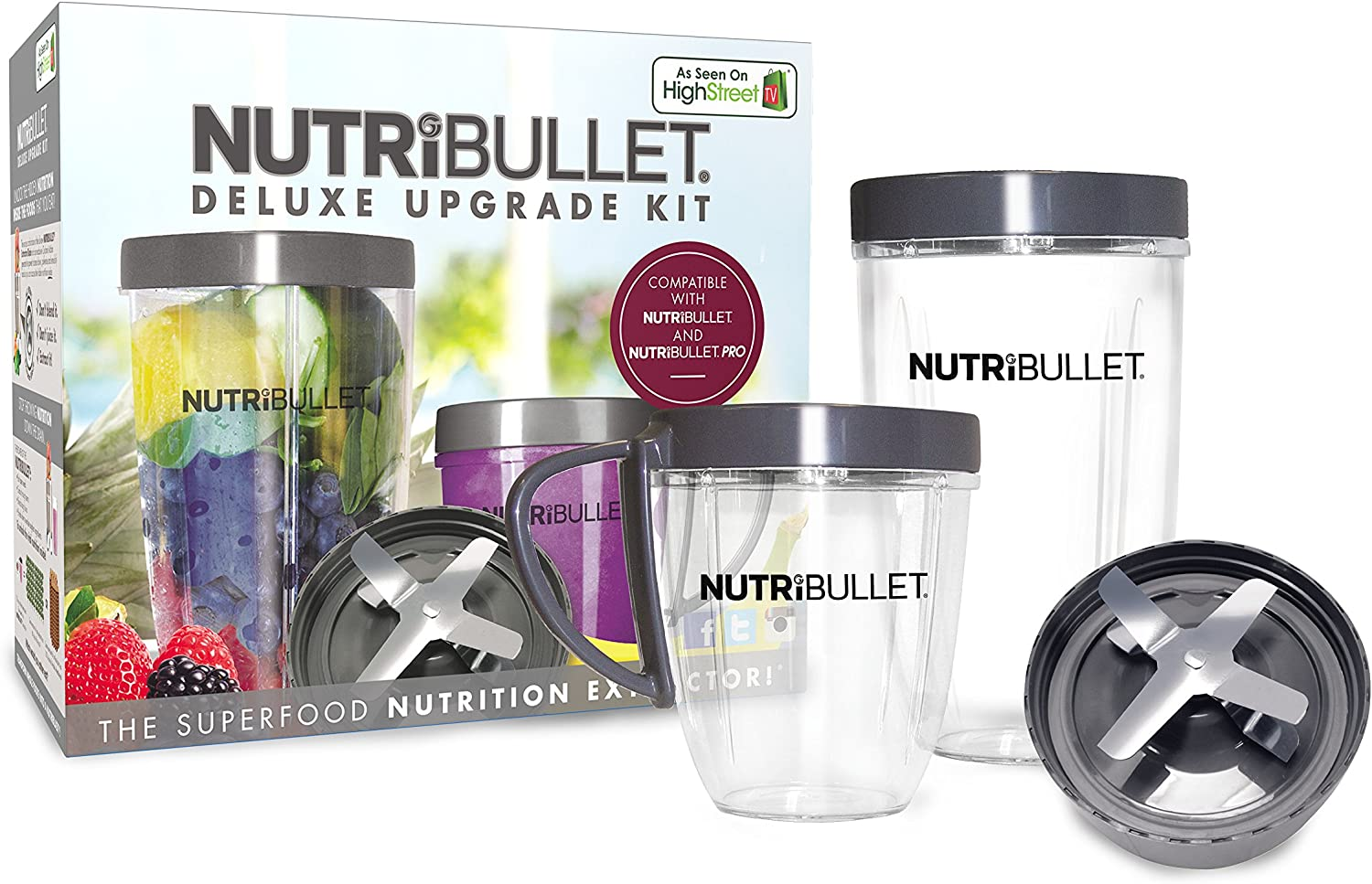 NutriBullet Accessories Kit - Accesorios de licuadora: Amazon.es ...