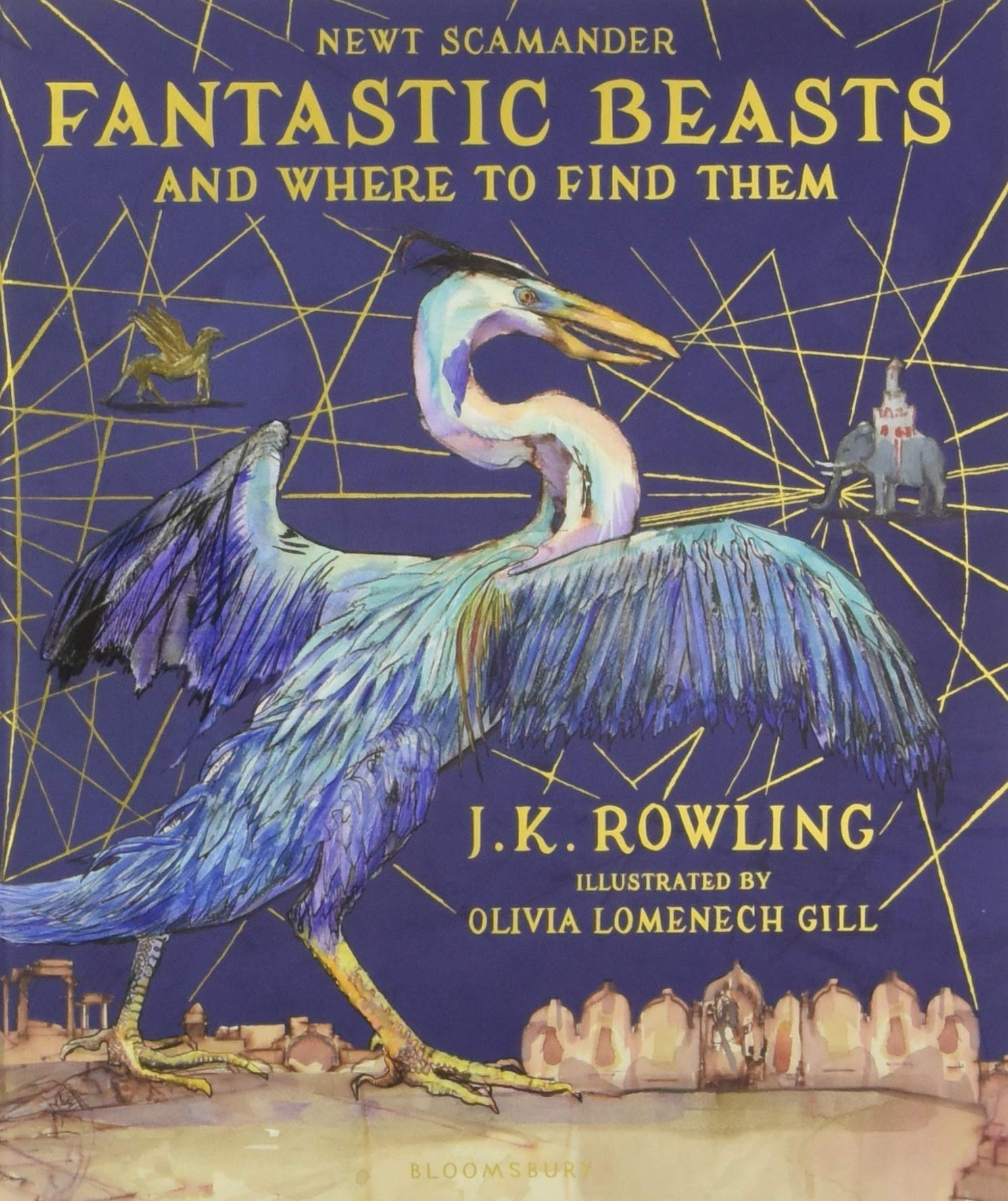 Image result for fantastic beasts illustrated limited edition book cover