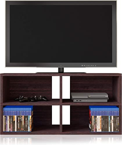 Way Basics Modular Media Console Entertainment Center Tool-Free Assembly and Uniquely Crafted from Sustainable Non Toxic zBoard Paperboard