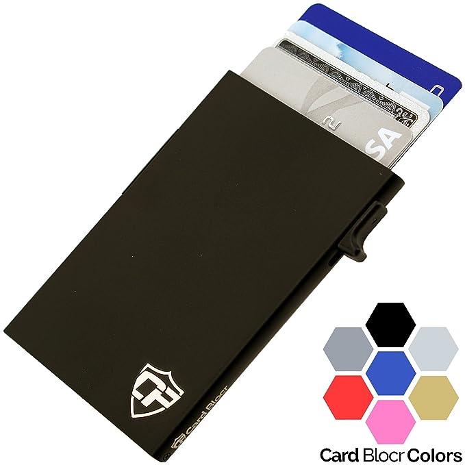 card blocr mens credit card holder wallet best minimalist wallet 2018 collection black - Best Credit Card Holder